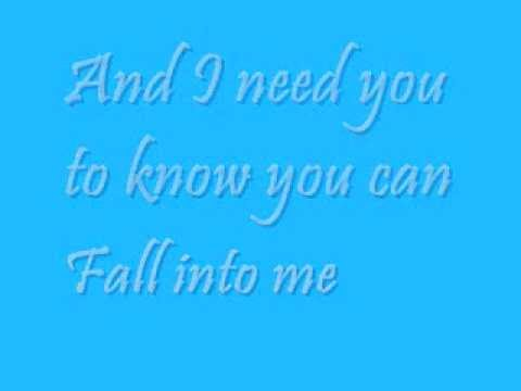 Fall Into Me (lyrics) - Emerson Drive video
