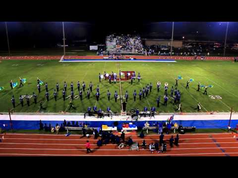 Jefferson High School Marching Band half time show