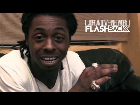 Lil Wayne Stunts with his BLING BLING and Gives a History Lesson | JTFLASHBACK