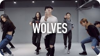 Download Lagu Wolves - Selena Gomez, Marshmello / Jun Liu Choreography Gratis STAFABAND