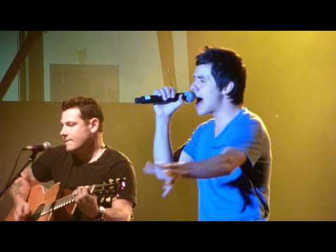David Archuleta - My Hands - Delta Fair Memphis, TN
