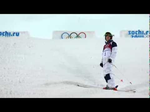 2014 Sochi Olympics Hannah Kearney leads moguls; Heidi Kloser injured
