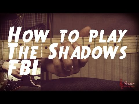 Shadows - Fbi (Solo Guitar)