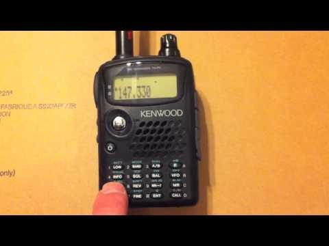 How to Use A Repeater with The Kenwood Handheld TH-F6A