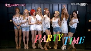 SNSD Funny Cut Edited Ver. 『PARTY』① 150702 ~ 150708