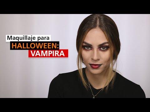 Tutorial: Maquillaje para Halloween de Vampira - Ximena Moral