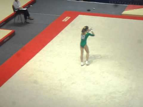 Viktoria Komova 2011 Russian Cup FLOOR