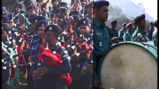 valo beshe desh r desher manush---police week 2015 them song