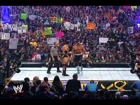 The Rock Vs Hulk Hogan Wrestlemania 18 P1 video