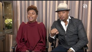 EMPIRE Interviews: Taraji P Henson & Terrence Howard On A Different Side Of Lucious