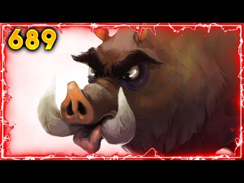 One Boar Boi.. | Hearthstone Daily Moments Ep. 688