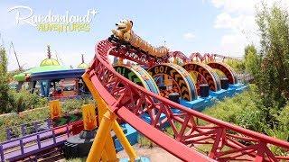 TOY STORY LAND at Walt Disney World! Slinky dog coaster and more!