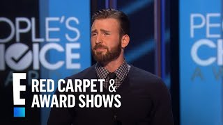 The People's Choice for Favorite Action Movie Actor is Chris Evans