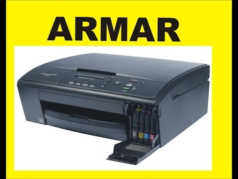 ARMAR BROTHER DCP J140W CASTELLANO