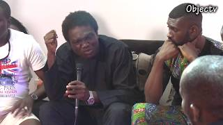 """Revolution By Sword"": Ayo Adewale Responds to Inibehe Effiong at The #Circleference"