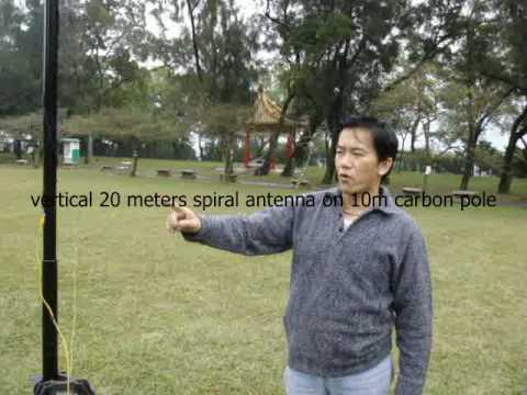 vertical long wire antenna for 80m~6m bands