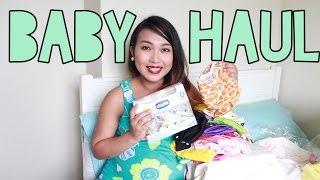 BABY HAUL!! clairbellatv