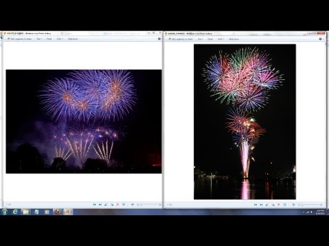 How to Shoot Fireworks - Settings, focusing, composition Tips