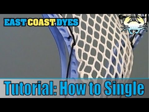 Tutorial: How to Single // Lacrosse Knots