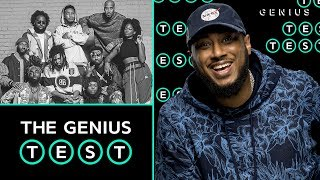 Dreamville President Ibrahim Hamad Takes The Dreamville Quiz | The Genius Test