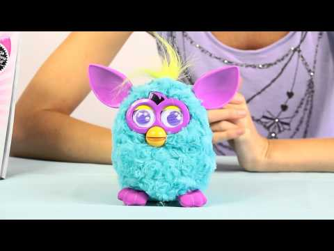 Furby Punk - Morski / Teal/Purple - Cool - Hasbro - www.MegaDyskont.pl