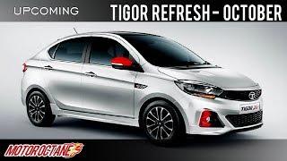 EXCLUSIVE: Tata Tigor Refresh launch in October | Hindi | MotorOctane