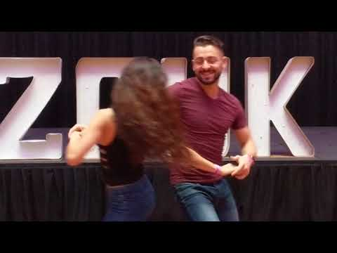 SSZF2018 Christina & Alisson in Friday workshop demo ~ Zouk Soul