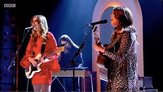 First Aid Kit – It's a Shame. The Graham Norton Show. BBC1. 12 Jan 2018