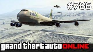 GTA 5 PC Online Po Polsku [#786] NAJWIĘKSZE Samoloty /z Bertbert