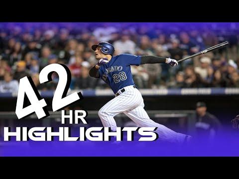 2015 Nolan Arenado 42 Hr Highlights MLB