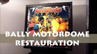 Pinball Bally Motordome Restauration Project