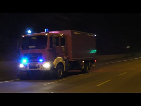 [Selten] Gerätewagen Analytic Task Force (GW-ATF) Technik und Umweltschutzwache Feuerwehr Hamburg