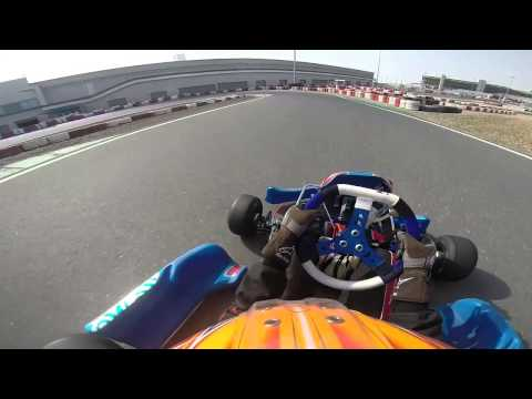 testing my new energy kart (Dubai kartdrome) gopro hero 3+