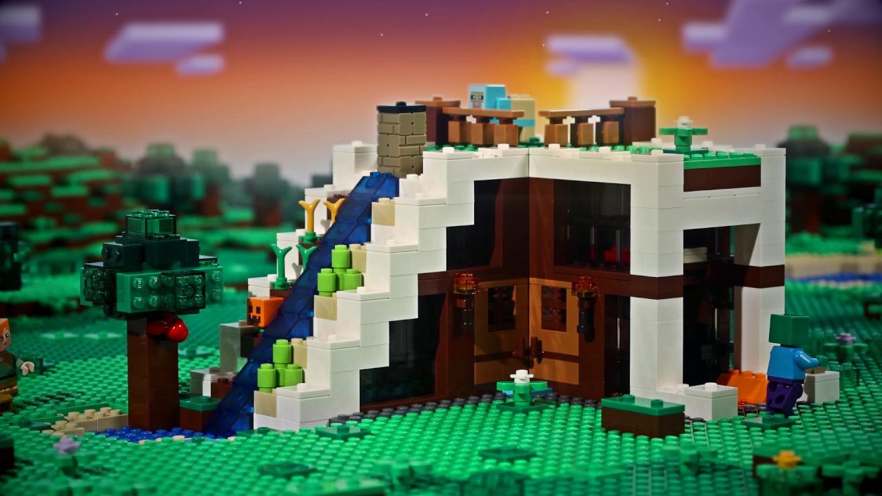 Knock Knock - LEGO Minecraft - Stop motion video