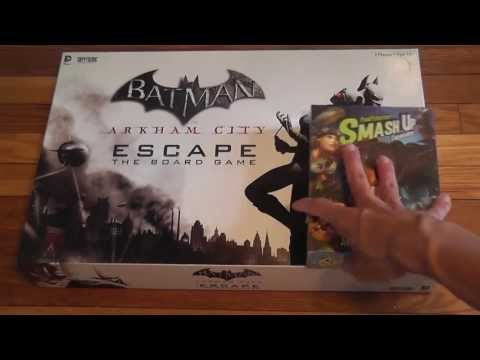 Batman Arkham City Escape Unboxing