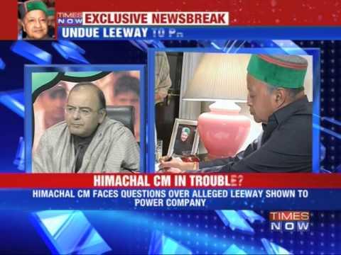 Himachal CM Virbhadra Singh in trouble?