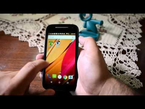 Motorola moto e segunda generación (2015)  4G LTE