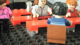 Lego Harry Potter: cafe attack scene