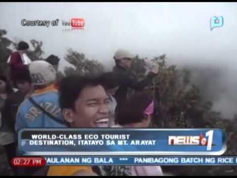 News@1: World-class eco tourist destination, itatayo sa Mt. Arayat