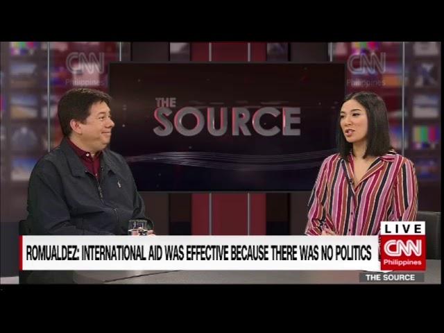 'The Source' speaks to Tacloban Mayor Albert Romualdez