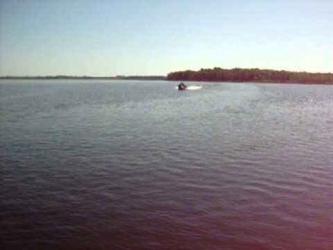 Bass Tracker Pro Team 175 TXW Mercury 75hp Four Stroke running with McFadden Marine
