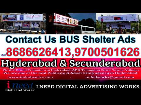 We Are Best bus shelter advertising Agency in hyderabad & Secunderabad