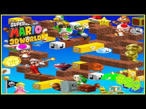 Wii U Super Mario 3D World | A bolazos en la casa del misterio