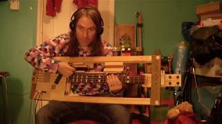 Bass Guitar Strumkit Test: New Wooden Bass Drum Simulator
