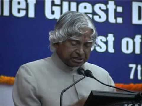 Dr. Apj Abdul Kalam Speech During Iia(indian Industries Association) Silver Jubilee video