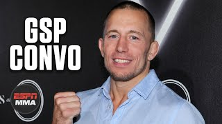 Georges St-Pierre catches up with Ariel Helwani | ESPN MMA