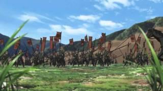 Sengoku Basara Anime - Date vs Imagawa