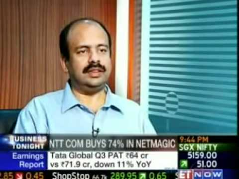 Sharad Sanghi comments on NTT Com Acquiring 74% Stake in Netmagic Solutions