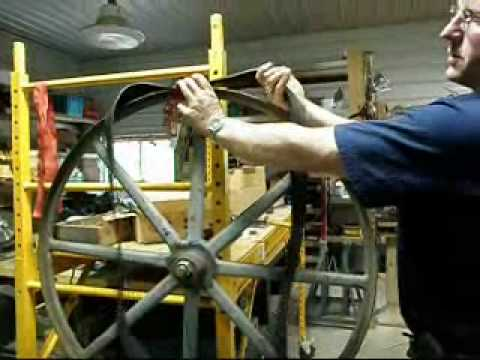 Bandsaw Tire Install ONE man - 15 Seconds!