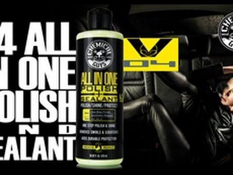1-Step Paint Polish & Protection - Chemical Guys V4 All In One Polish & Sealant